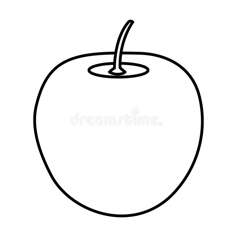 Icono de la fruta fresca de Apple libre illustration