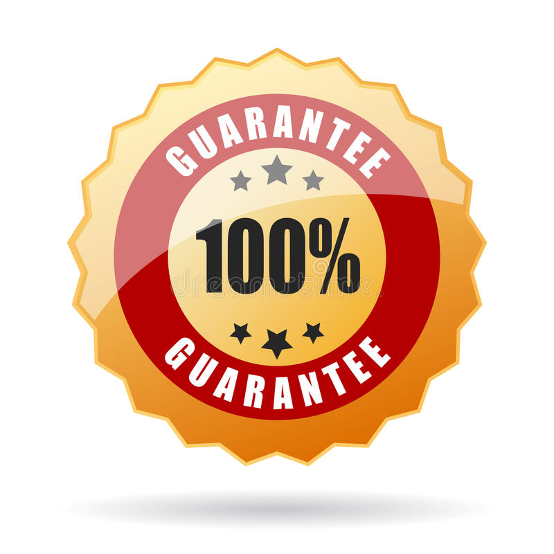 Icono de la garantía libre illustration
