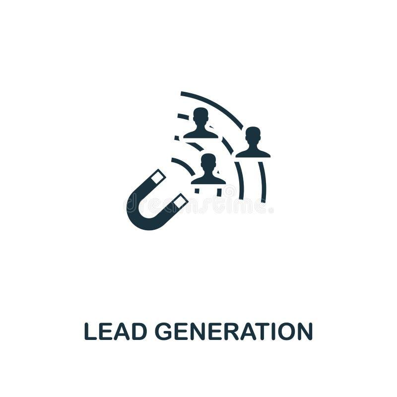 Icono de la generación de la ventaja Diseño creativo del elemento de la colección contenta de los iconos Icono perfecto de la gen ilustración del vector