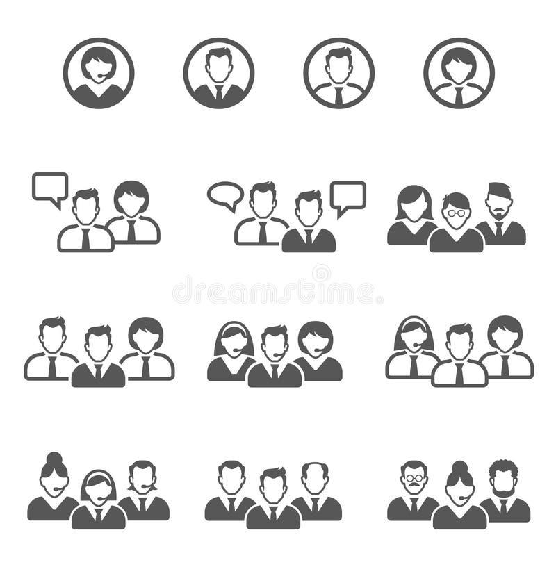 Icono de la gente libre illustration