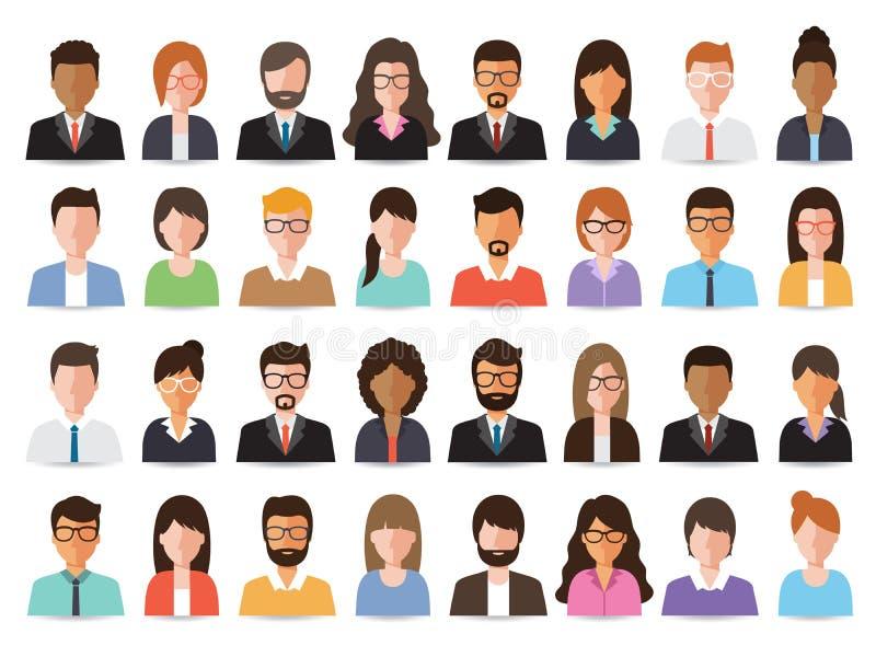 Icono de la gente stock de ilustración