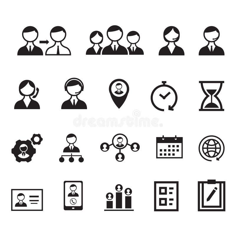Icono de la gestión, vector ilustración del vector
