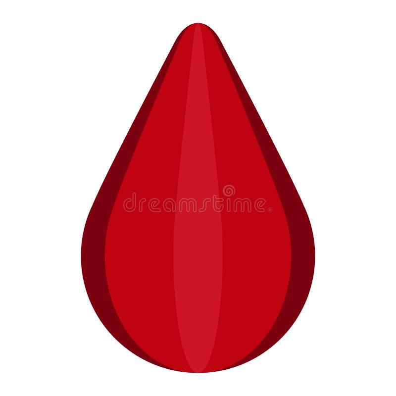 Icono de la gota de sangre libre illustration
