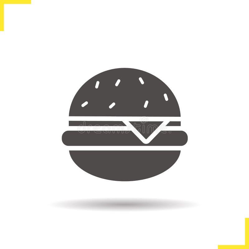 Icono de la hamburguesa ilustración del vector