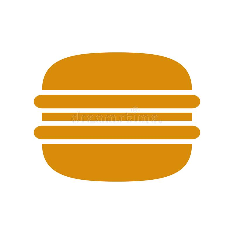 Icono de la hamburguesa - vector ilustración del vector