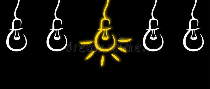 Icono de la idea - ejemplo stock de ilustración