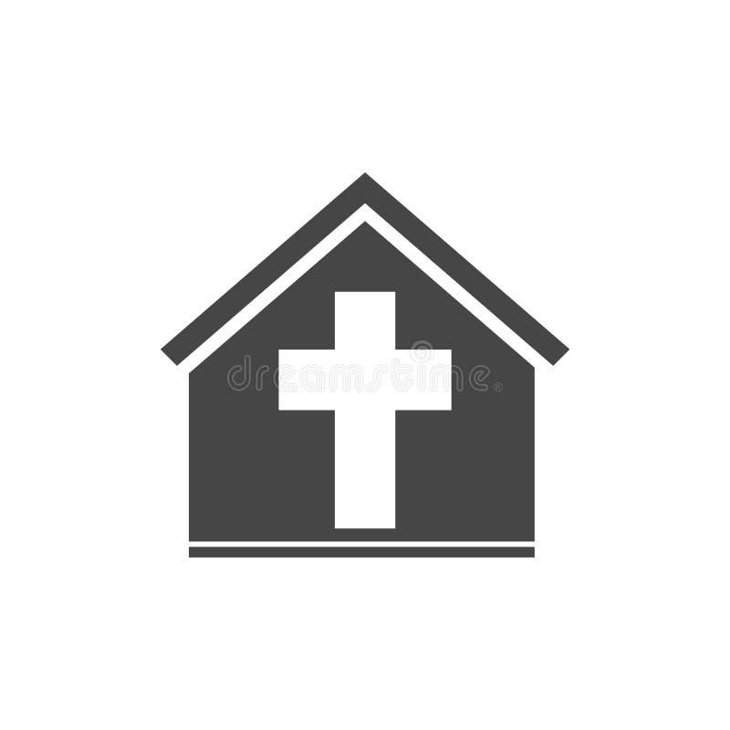 Icono de la iglesia del vector libre illustration
