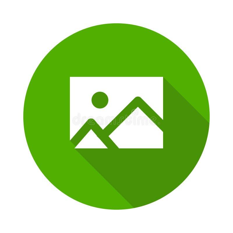 Icono de la imagen ilustración del vector