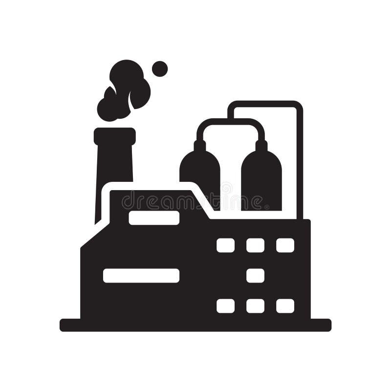 Icono de la industria  stock de ilustración