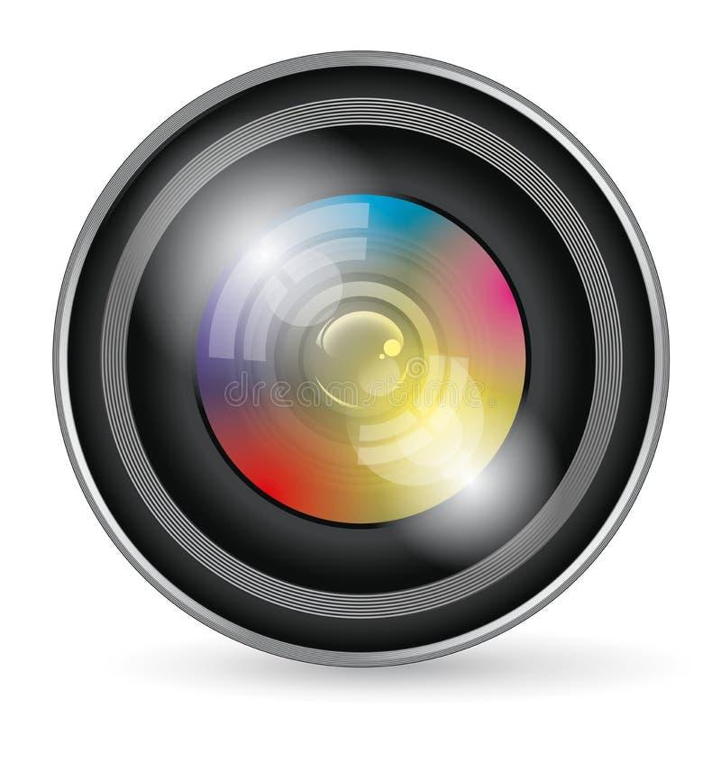 Download Icono De La Lente De Cámara Ilustración del Vector - Ilustración de camera, fotografía: 42433896