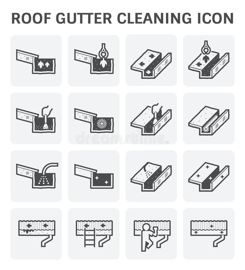 Icono de la limpieza del canal libre illustration