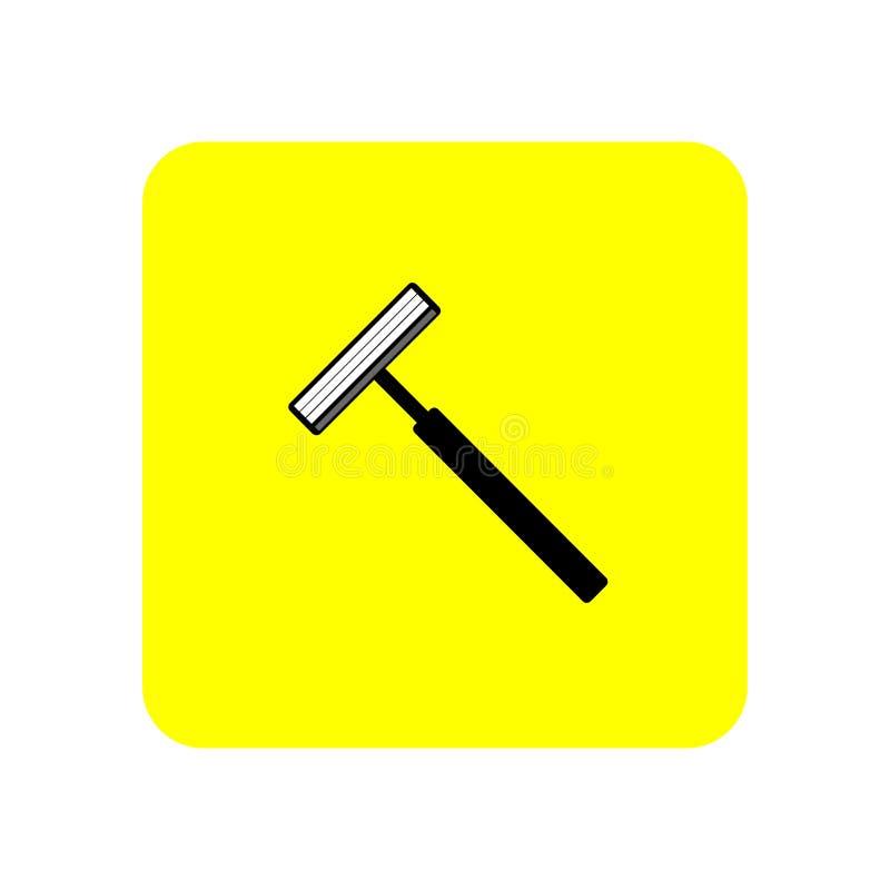 icono de la máquina de afeitar libre illustration