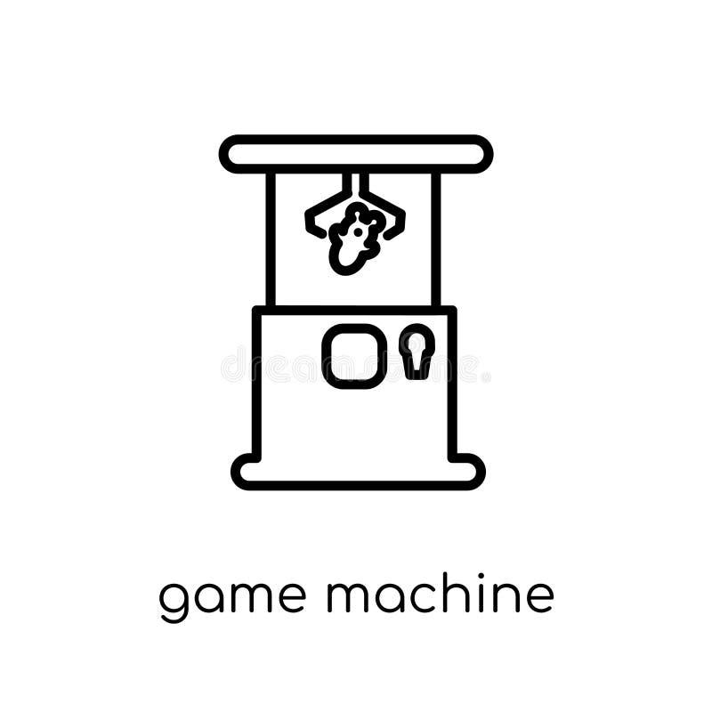Icono de la máquina de juego de la colección de la arcada libre illustration