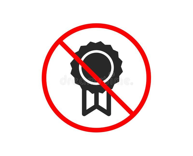 Icono de la medalla del premio Logro del ganador Vector libre illustration