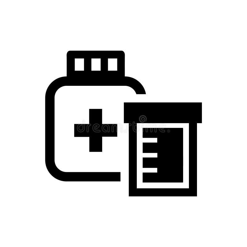 Icono de la medicación ilustración del vector