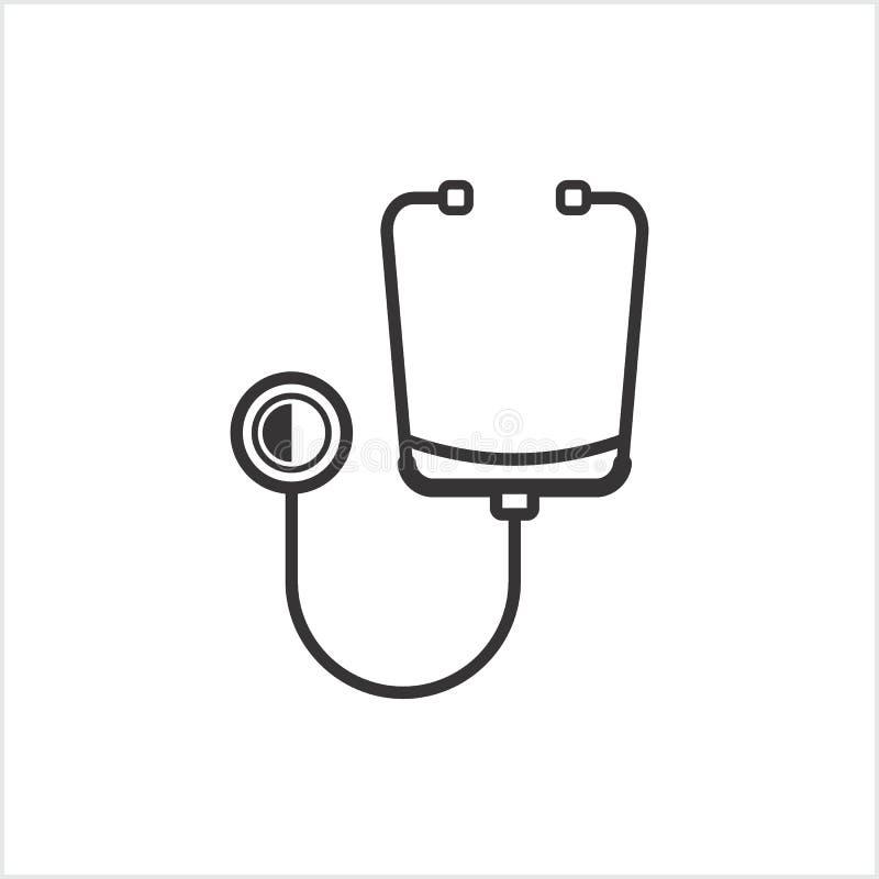 Icono de la medicina stock de ilustración
