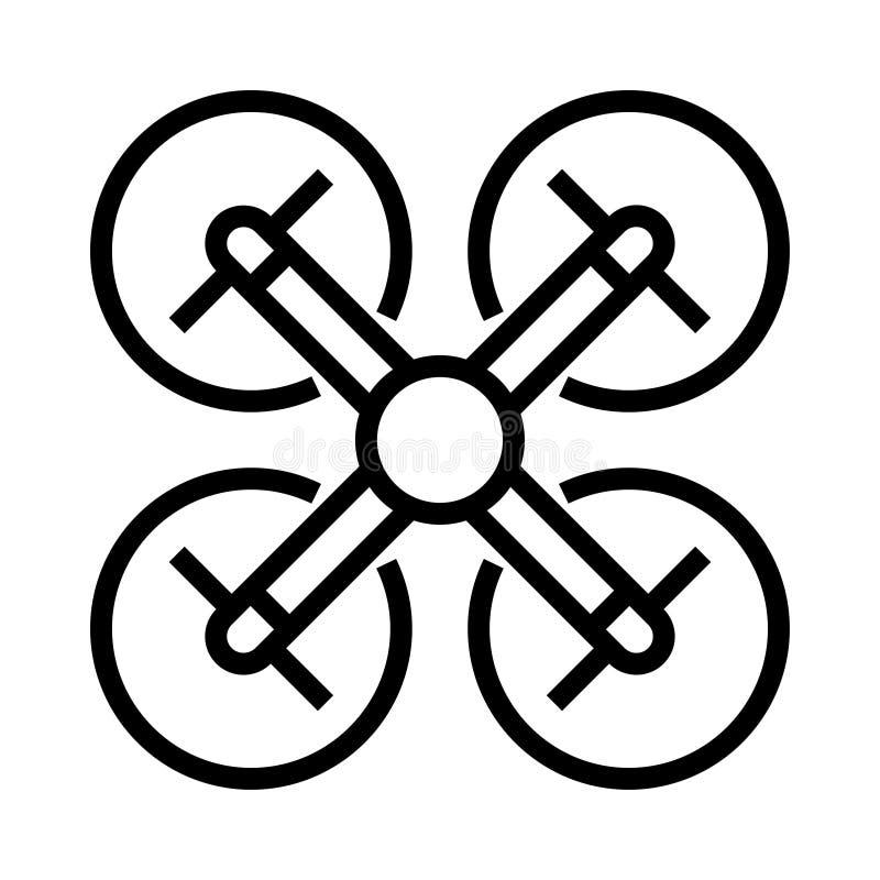 Icono de la mosca del abejón ilustración del vector
