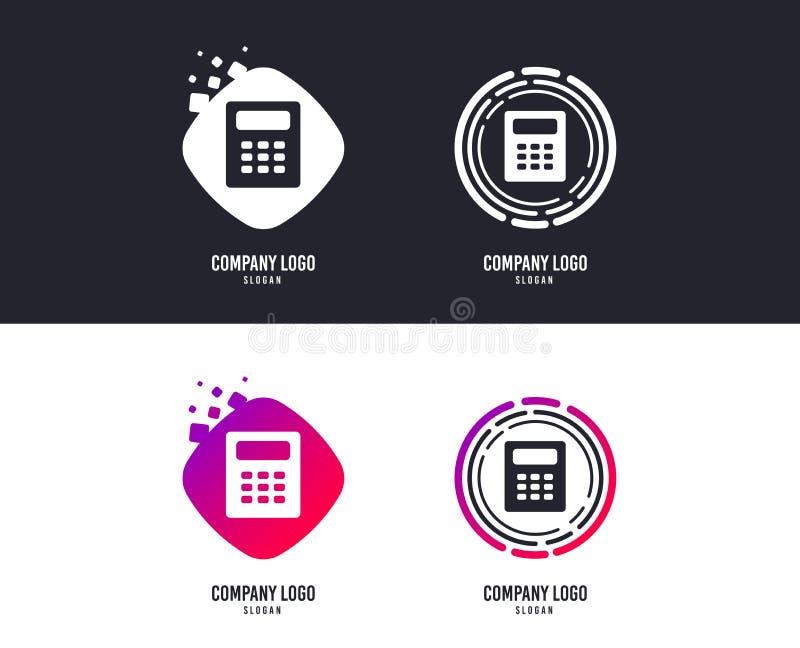 Icono de la muestra de la calculadora Símbolo de la contabilidad Vector libre illustration