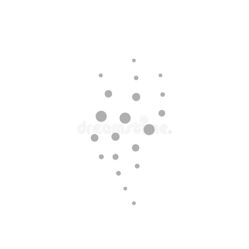 Icono de la muestra del olor ilustración del vector