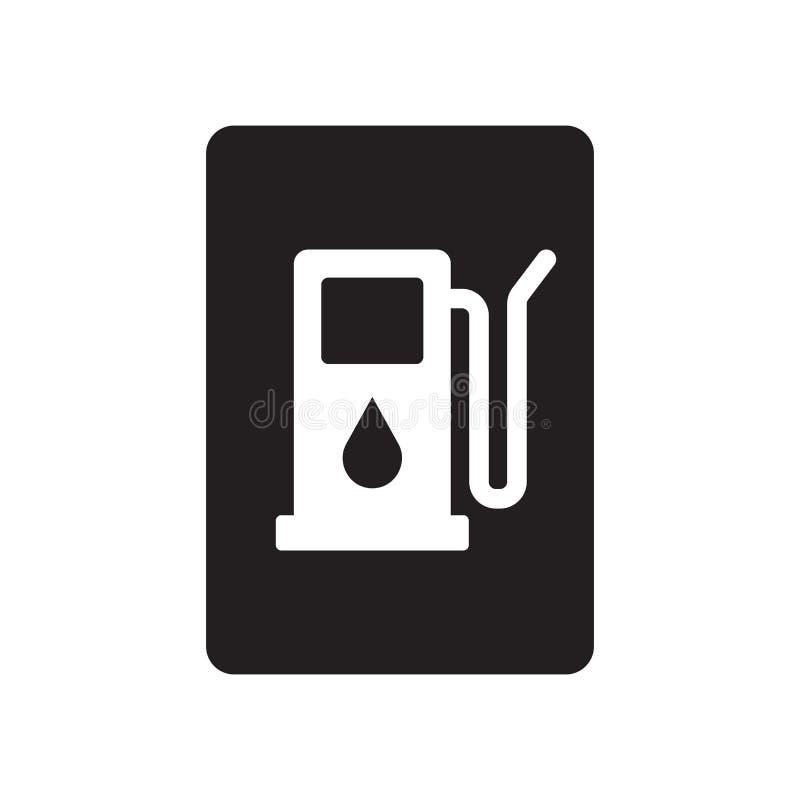 Icono de la muestra de la gasolina  libre illustration