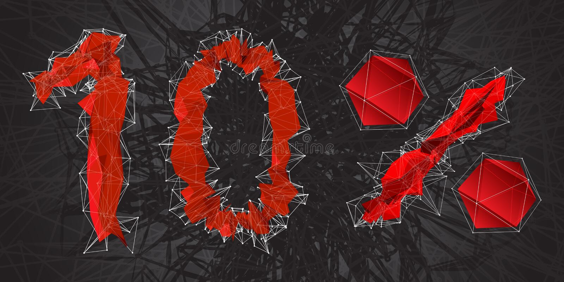 icono de la muestra de la venta del 10% Símbolo del descuento Venta de Black Friday, estación d libre illustration