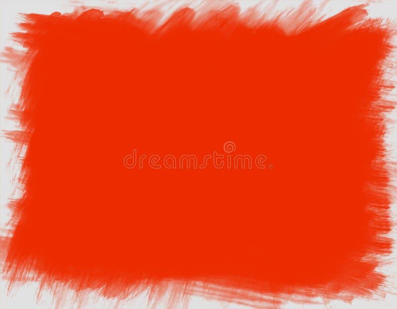Icono de la Navidad de fondo rojo puro ilustración del vector