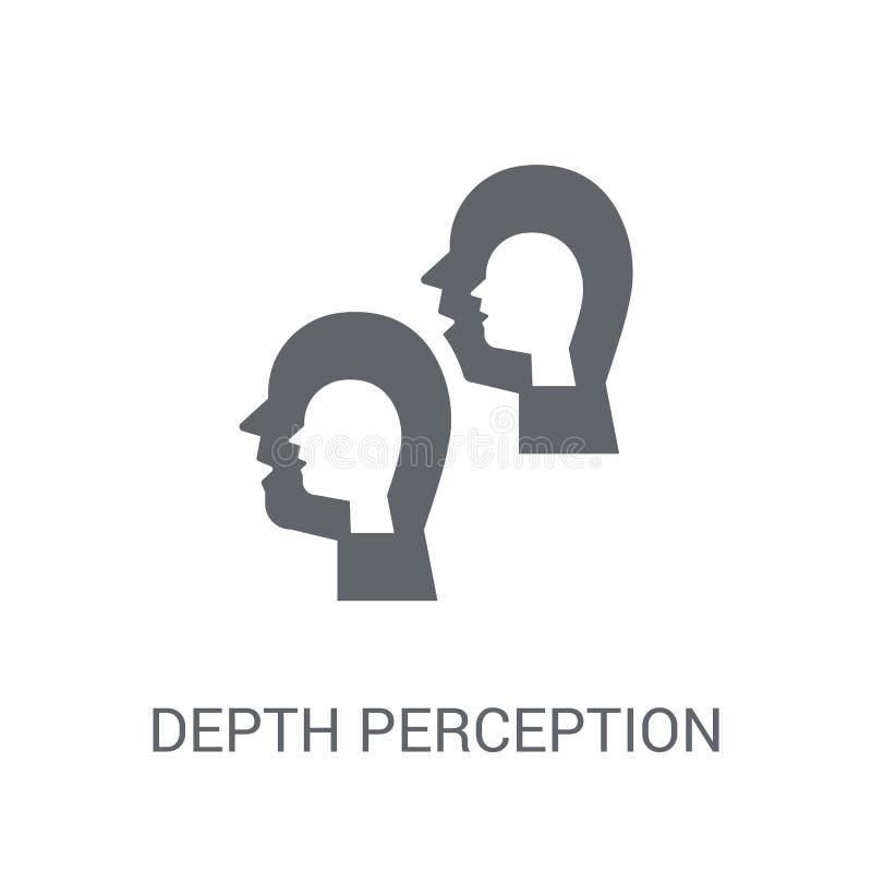 Icono de la opinión de profundidad  libre illustration