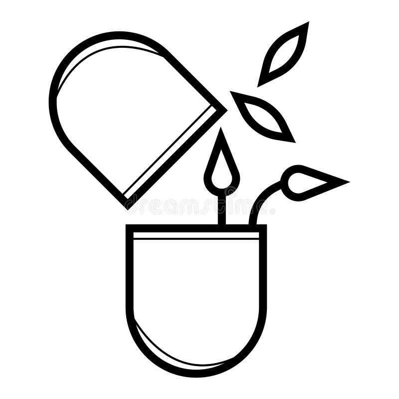 Icono de la píldora libre illustration