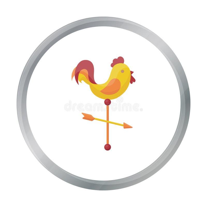 Icono de la paleta de tiempo en estilo de la historieta aislado en el fondo blanco Acción del símbolo de tiempo ilustración del vector