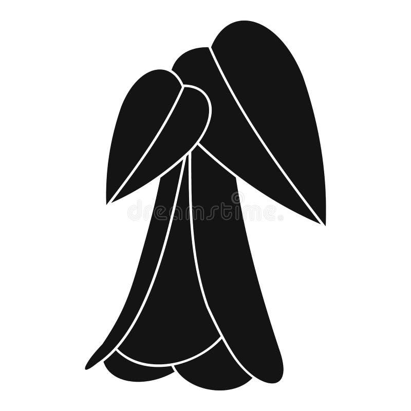 Icono de la palmera, estilo simple ilustración del vector