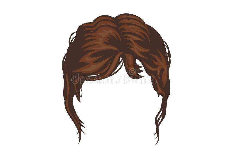 Icono de la peluca libre illustration