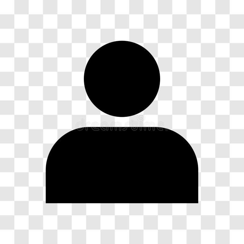 Icono de la persona - diseño icónico del vector libre illustration