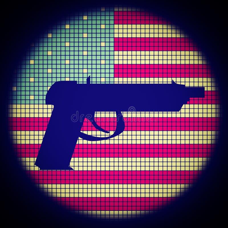 Icono de la pistola libre illustration