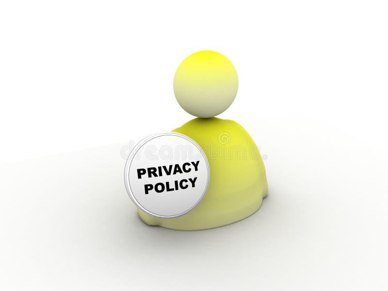 Icono de la política de aislamiento libre illustration