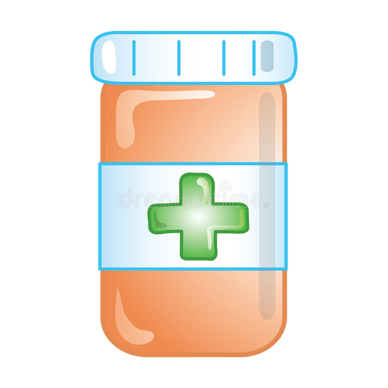 Icono de la prescripción ilustración del vector