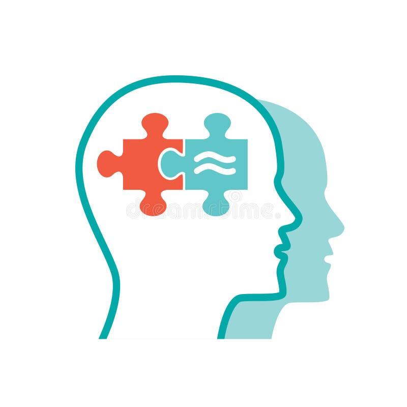 Icono de la psicología del vector libre illustration