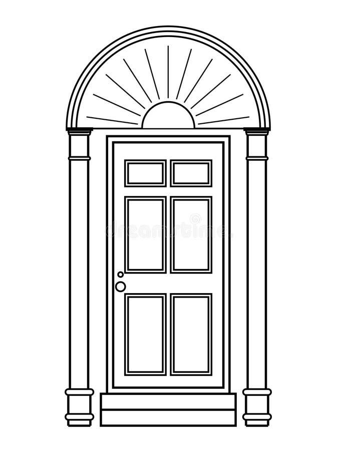 Icono de la puerta libre illustration