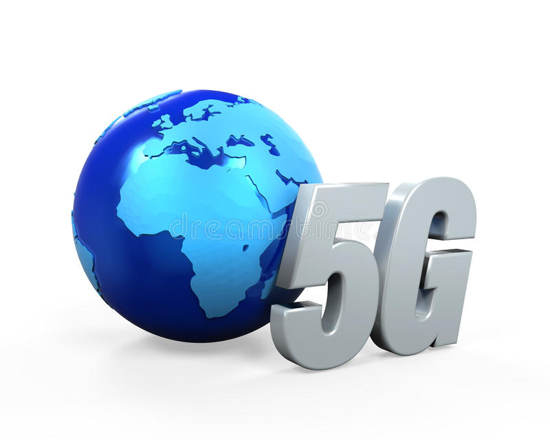 icono de la red 5G libre illustration