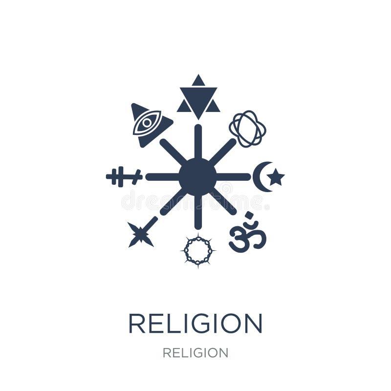 Icono de la religión  stock de ilustración