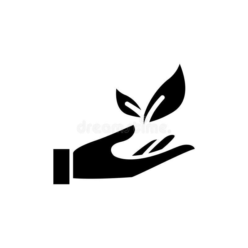Icono de la responsabilidad del trabajo, ejemplo stock de ilustración