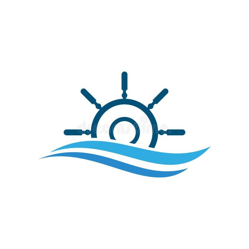 Icono de la rueda de la nave libre illustration