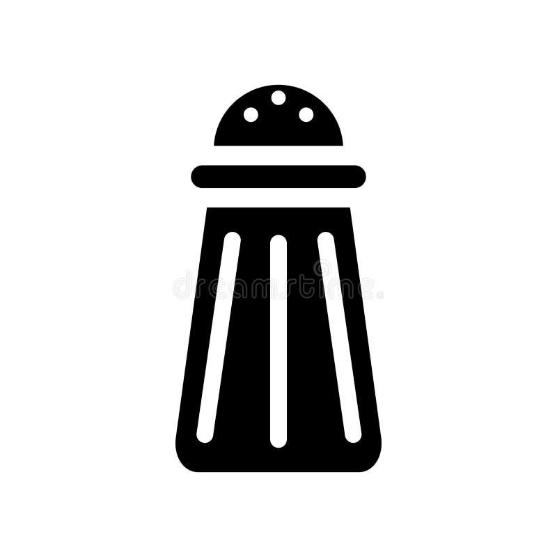 Icono de la sal  ilustración del vector