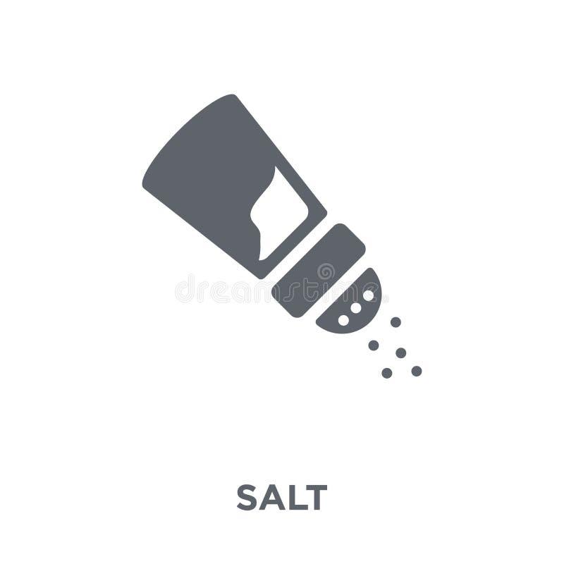 Icono de la sal de la colección stock de ilustración