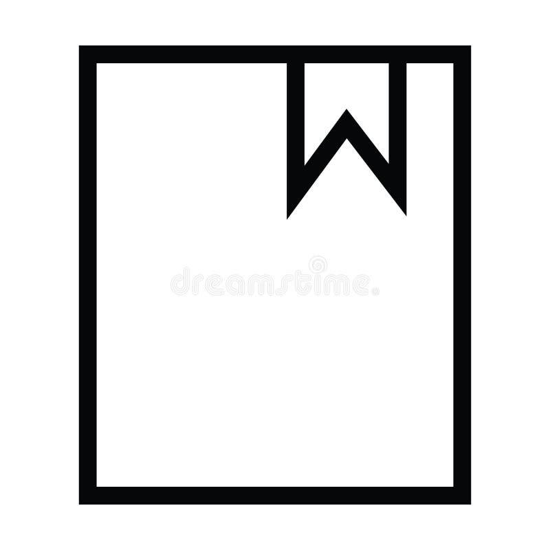 Icono de la señal con estilo del esquema stock de ilustración