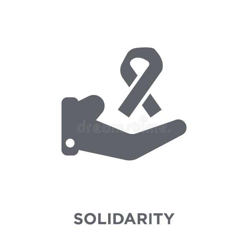 Icono de la solidaridad de la colección ilustración del vector