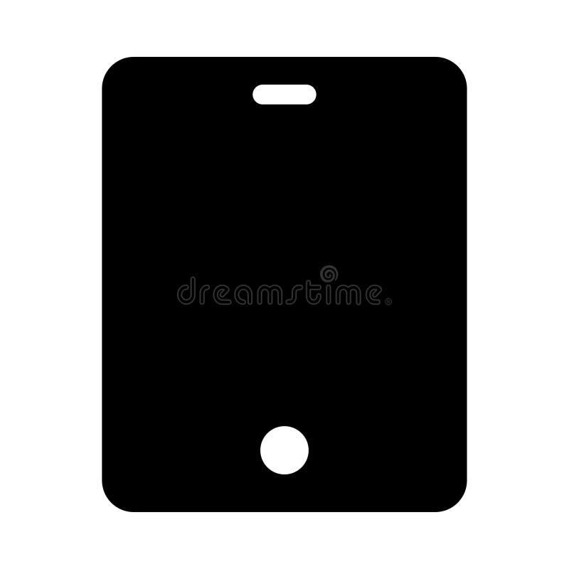 Icono de la tableta stock de ilustración