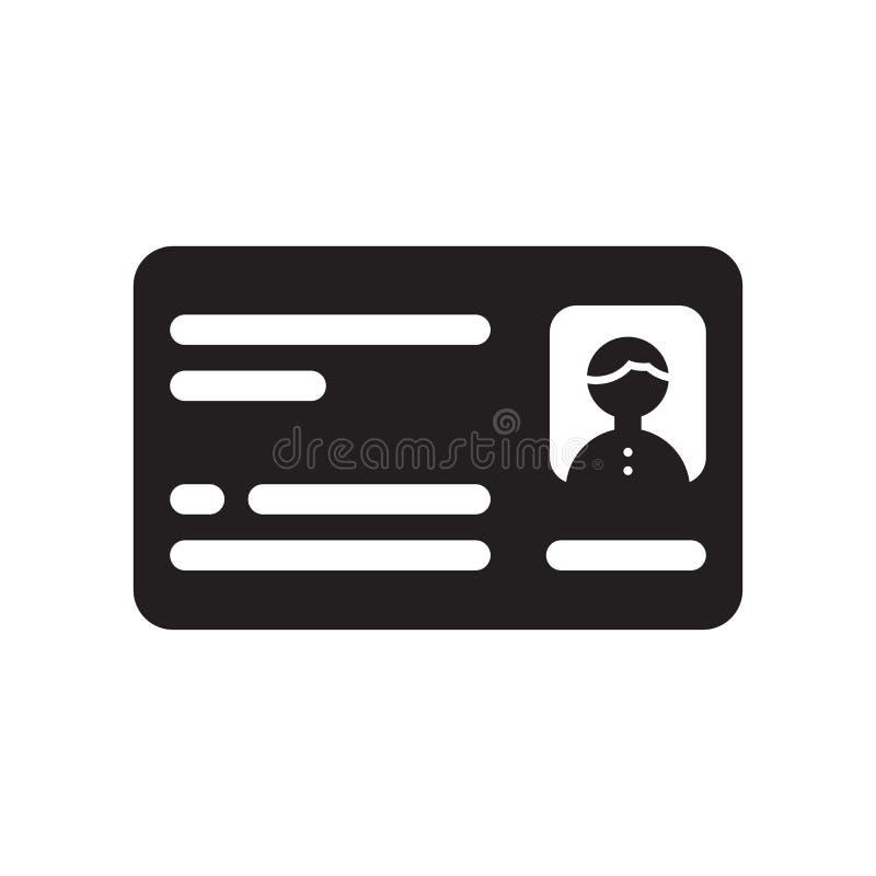 icono de la tarjeta aislado en el fondo blanco ilustración del vector