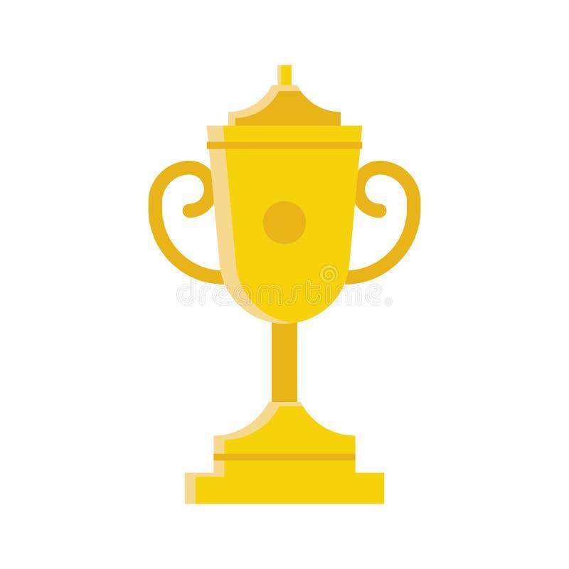Icono de la taza del ganador libre illustration