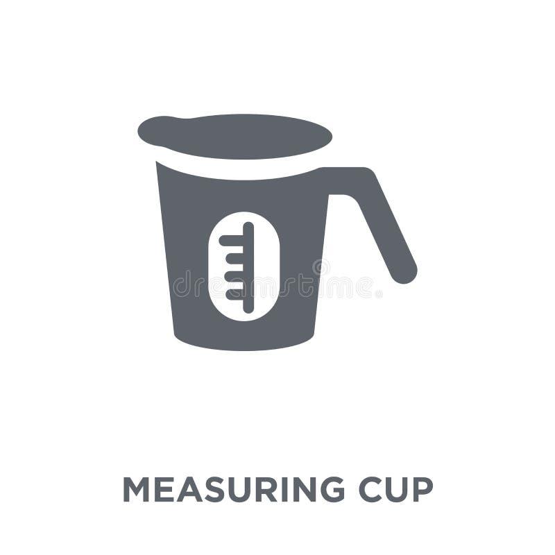 Icono de la taza de medición de la colección stock de ilustración