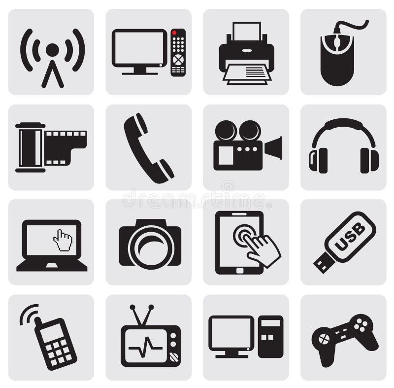 Icono de la tecnología ilustración del vector